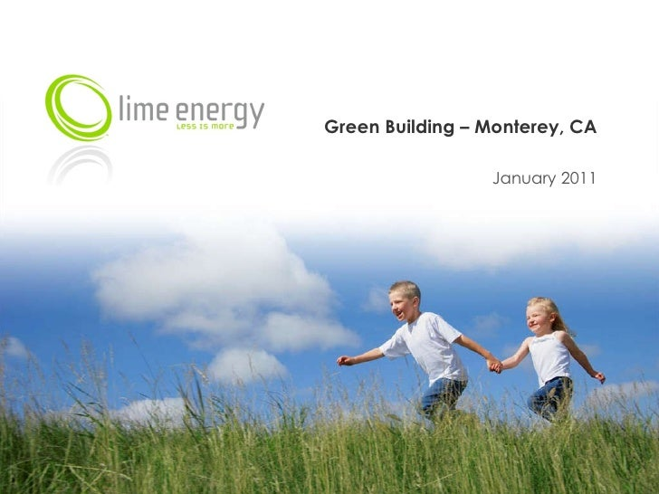 Green Building – Monterey, CA January 2011