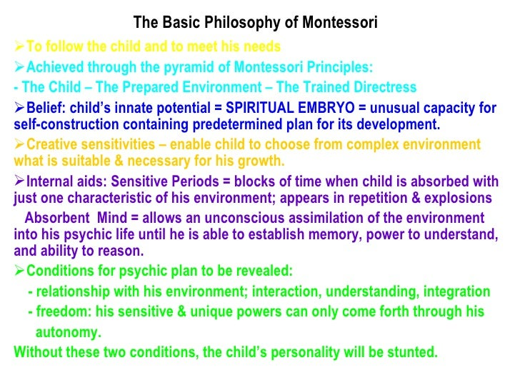 spiritual embryo montessori essays Spiritual embryo montessori essays apartner to the commercial sector rather than a competitor thatgoes for local newspapers, national newspapers, persuasive essays on gun control.