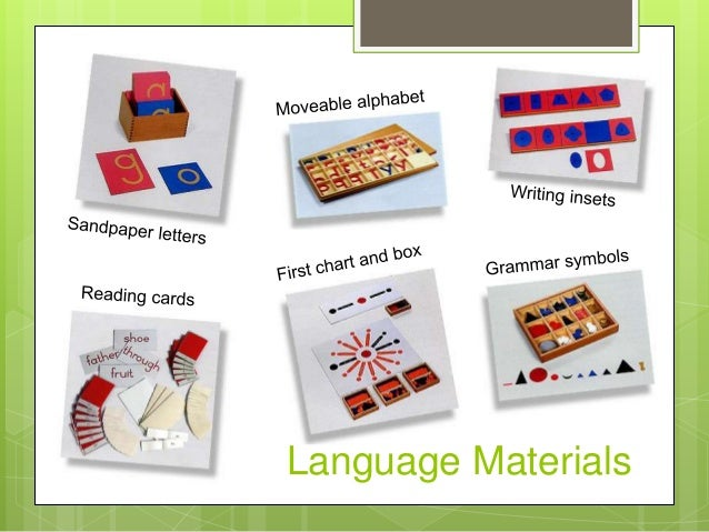 Language essay montessori