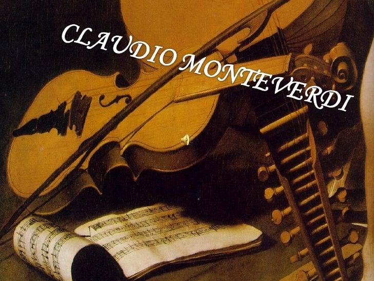 Nacido en Cremona el 15 de mayo del1567, en el seno de una familiahumilde. Fue un compositor italiano ymúsico puente entre...