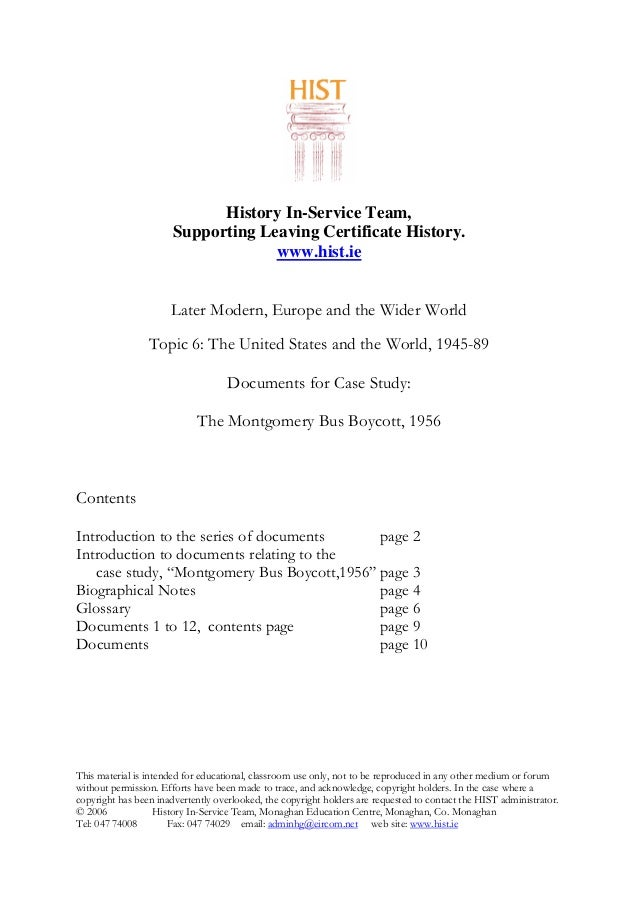 History In-Service Team, Supporting Leaving Certificate History. www.hist.ie Later Modern, Europe and the Wider World Topi...