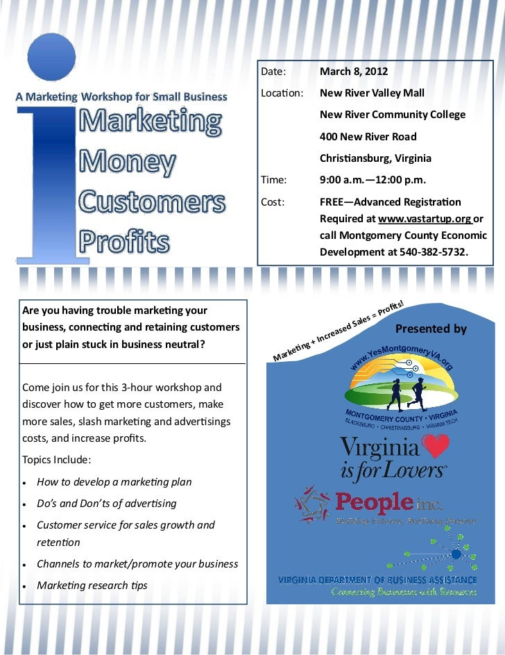 Montgomery County iMarketing Workshop