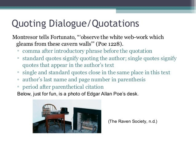 mla format for dialogue in an essay How do you cite a movie quote feb 27, 2013 a prerequisite to citing anything is a format and guideline to follow buy an essay: citing a book in mla style.