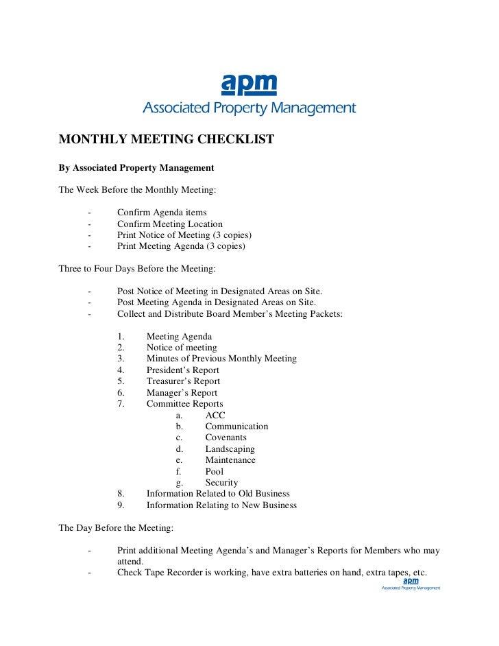 Agm Process Property Management
