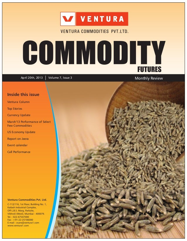 Commodities April 2013 Review