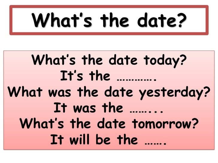 What date today