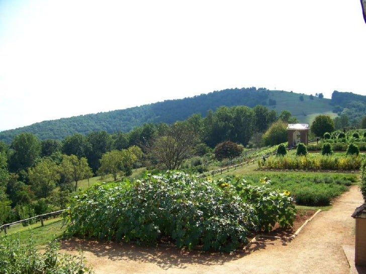 Monticello Vegetable Gardens
