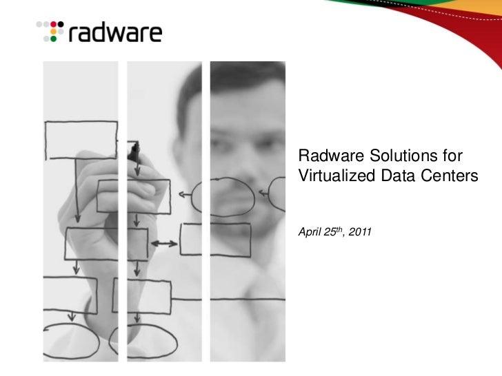 #VMUGMTL - Radware Breakout