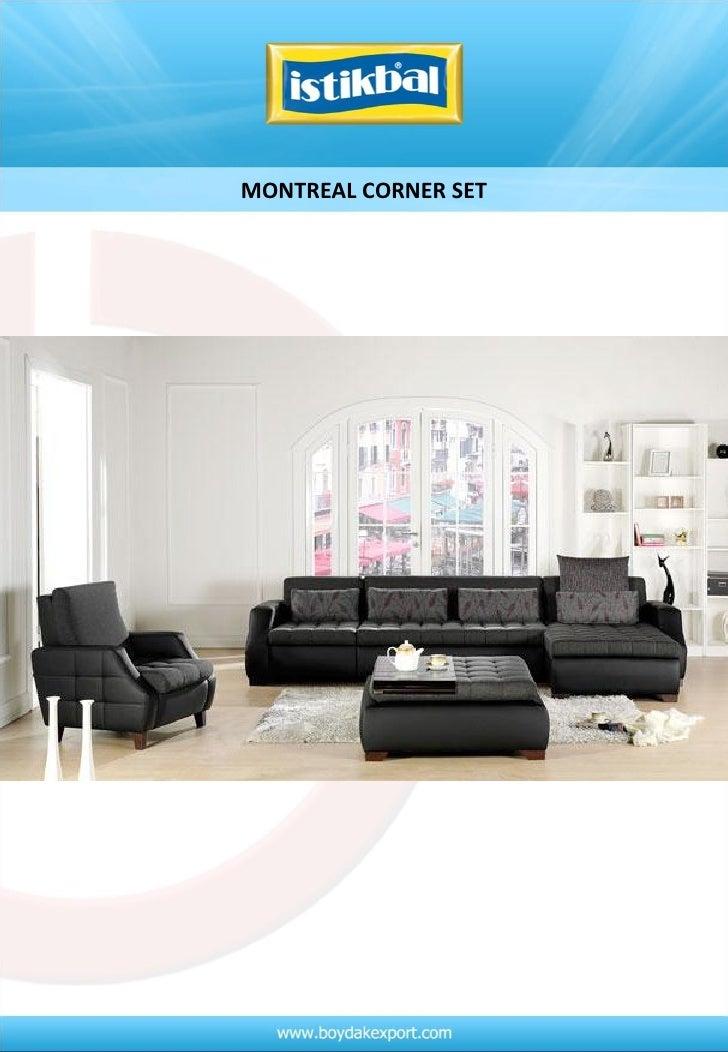 Montreal corner set