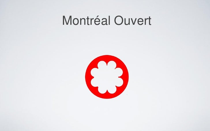 Montréal Ouvert