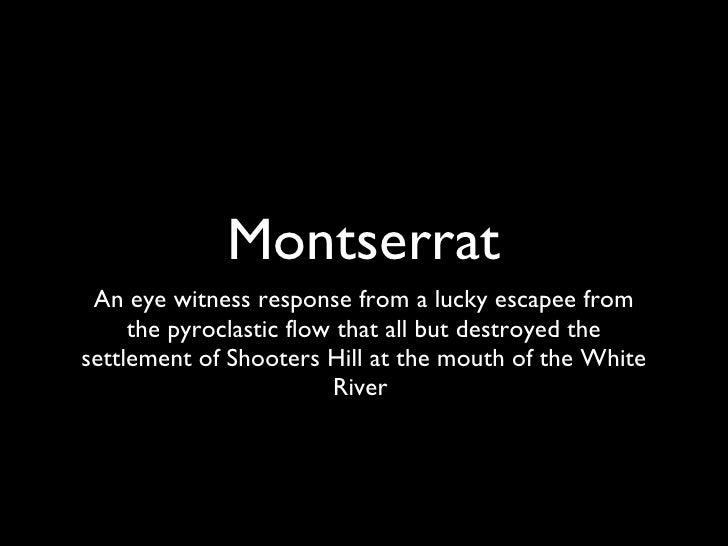 Montserrat-preparing to leave