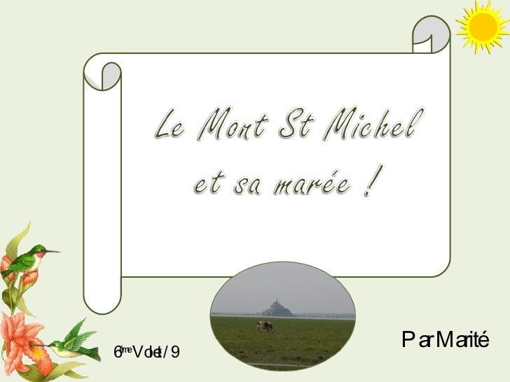 6 ème  Volet / 9 Par Marité
