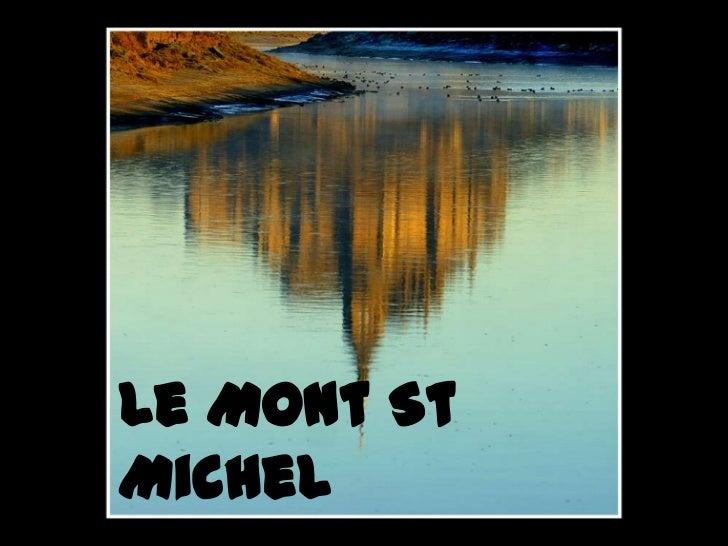 Le Mont StMichel