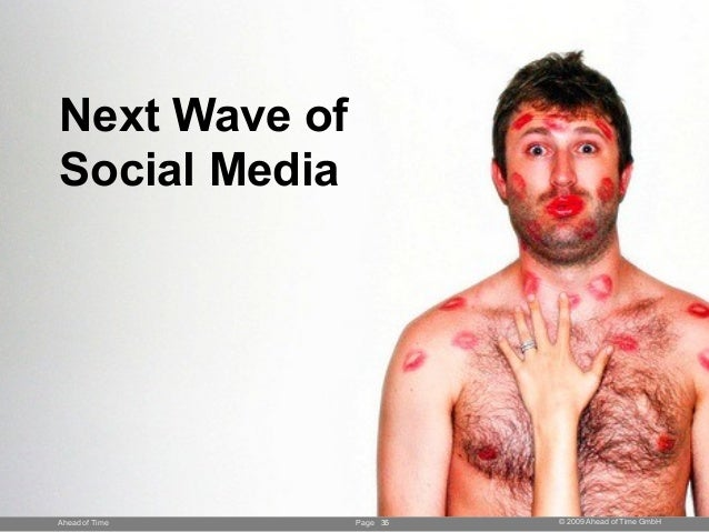 Page © 2009 Ahead of Time GmbHAhead of Time 35 Next Wave of Social Media