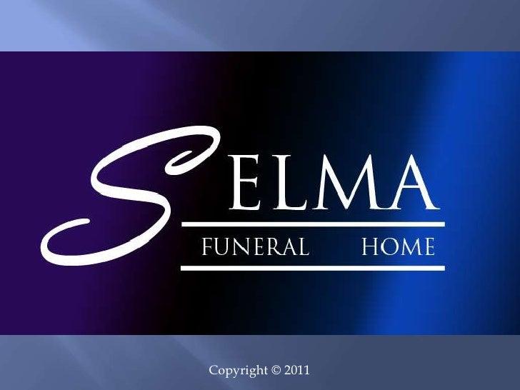 Selma Funeral Home Monument Kiosk