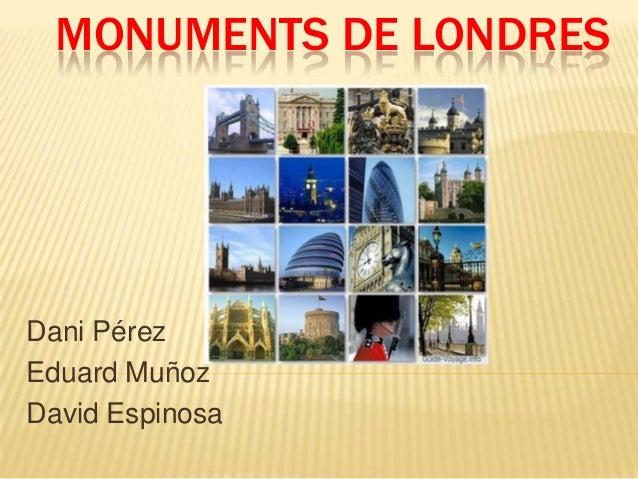 Monuments de londres