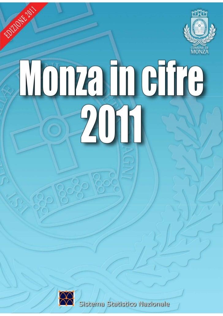 Monza in cifre 2011