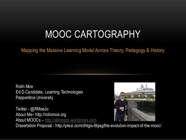 MOOC Cartography - Presentation for Sloan-C International Conference on Online Learning (2013)