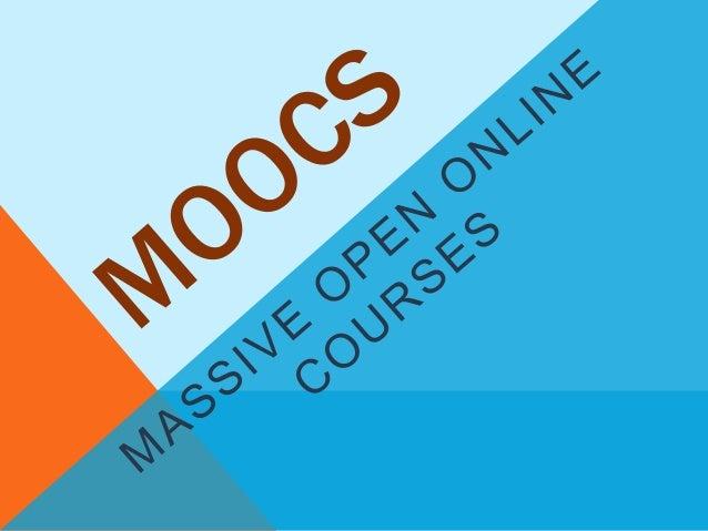 MOOCs presentation
