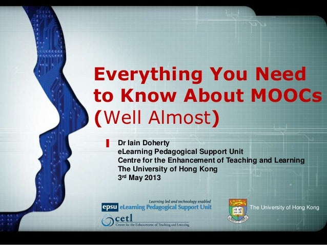 Everything You Need To Know About MOOCs (Well Almost)