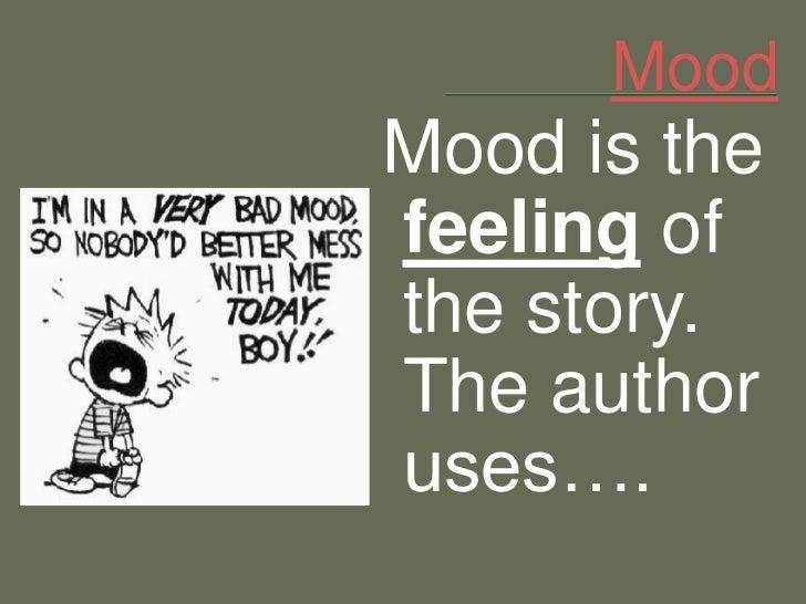 Mood literary term definition