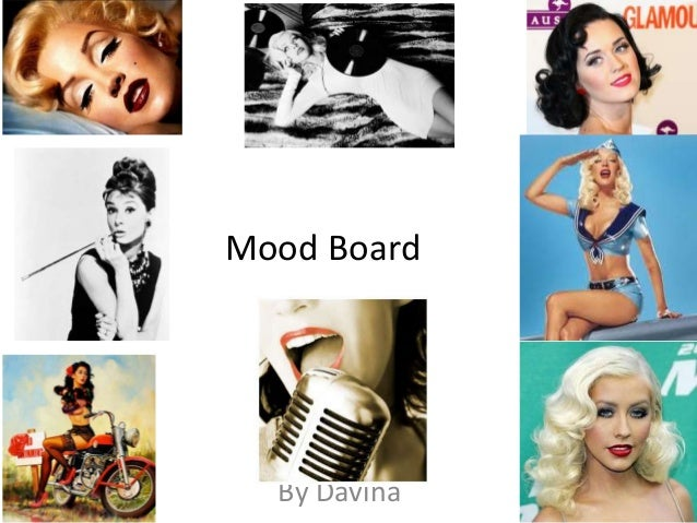 Mood board for photo