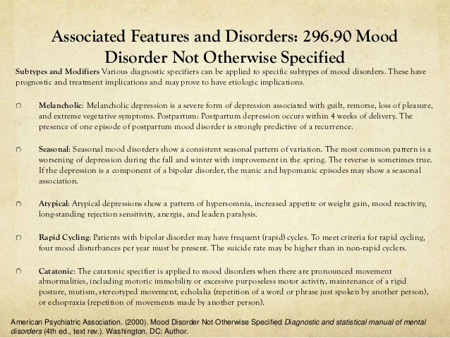 a dsm iv diagnosis as applied to