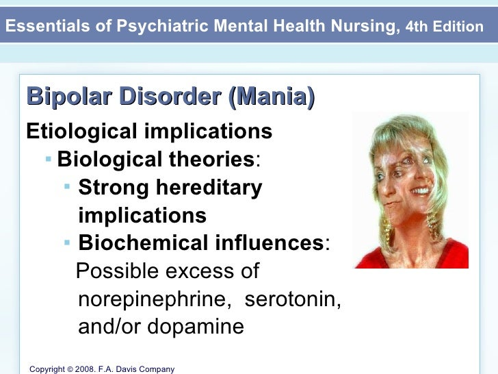 an introduction to the issue of bipolar affective disorder Four types of bipolar disorder bipolar i disorder is an illness in which people have experienced one or take action on advocacy issues attend nami national.