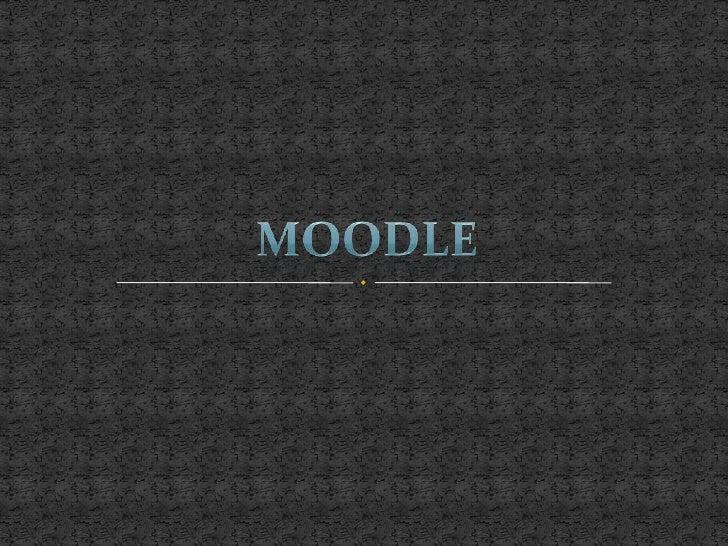 MOODLE<br />