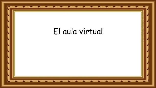 El aula virtual