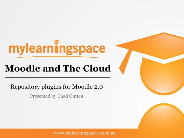 Moodle and The Cloud