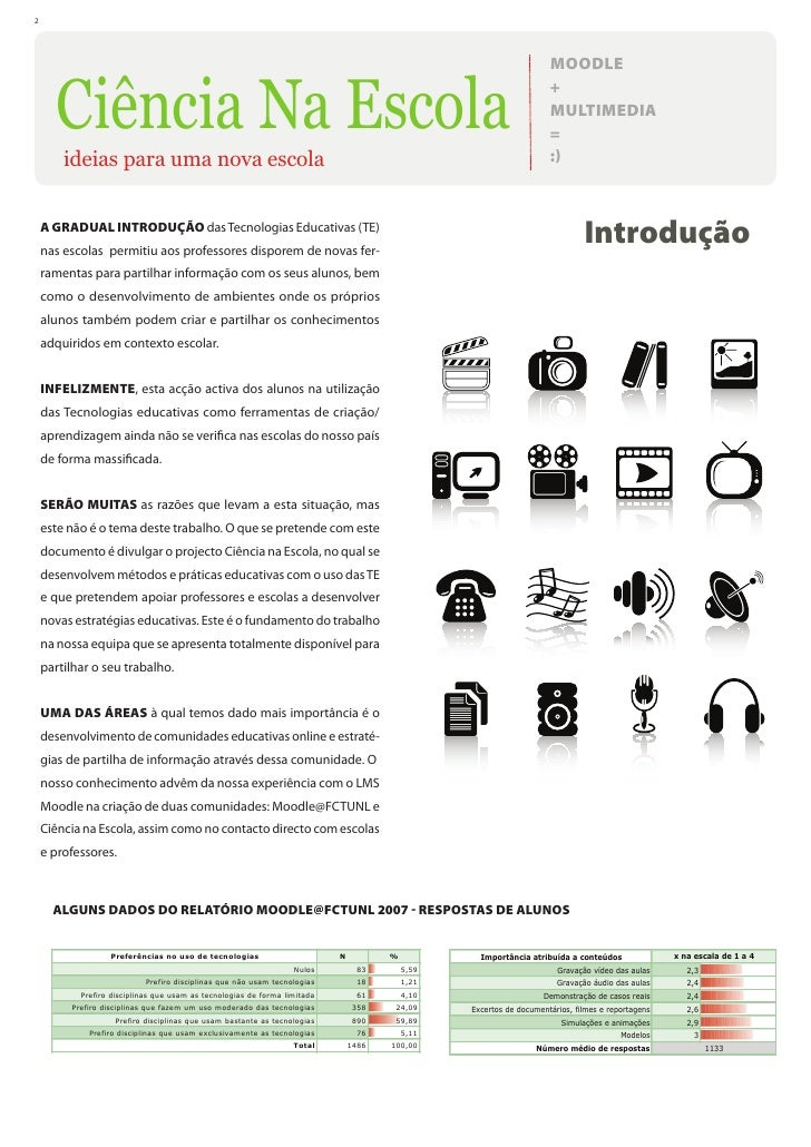 Moodle e Multimedia