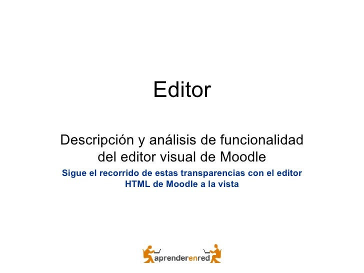 Moodle2 Editor