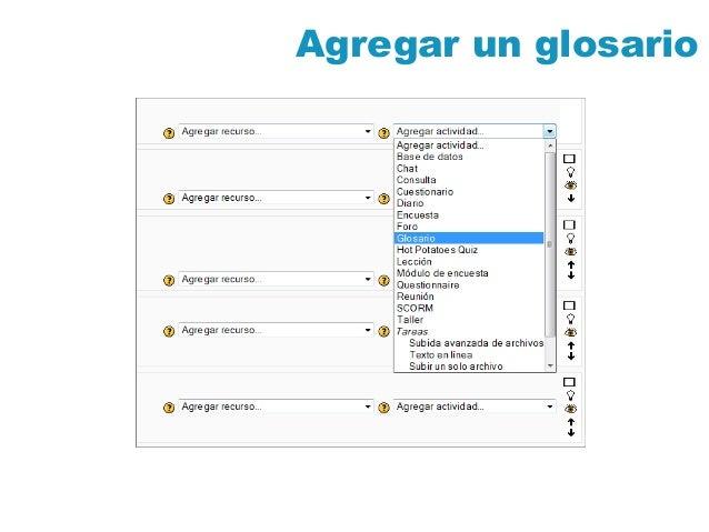 Moodle 1.9 Glosarios