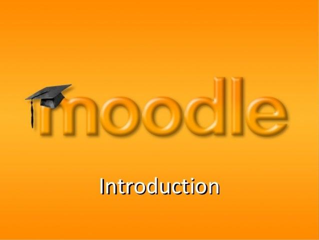 Moodle andbeyondintroduction