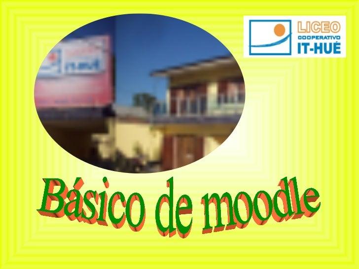 Moodle básico