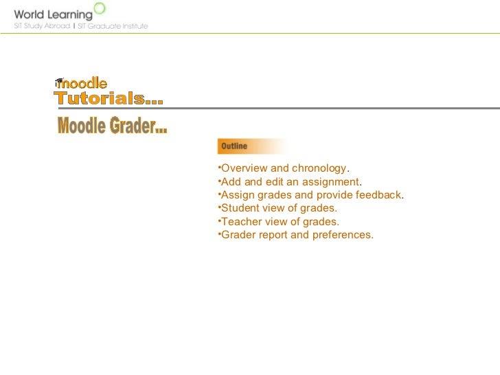 Moodle grader For SIT