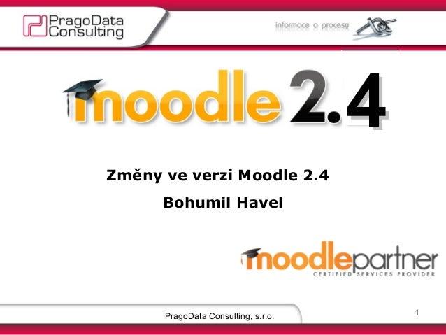 Moodle změny  verze 2.4