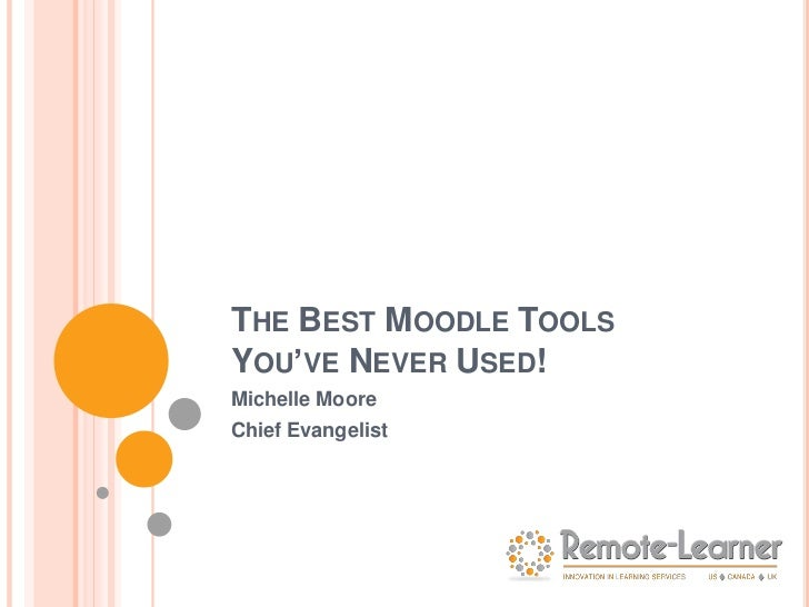 The Best Moodle Tools You've Never Used