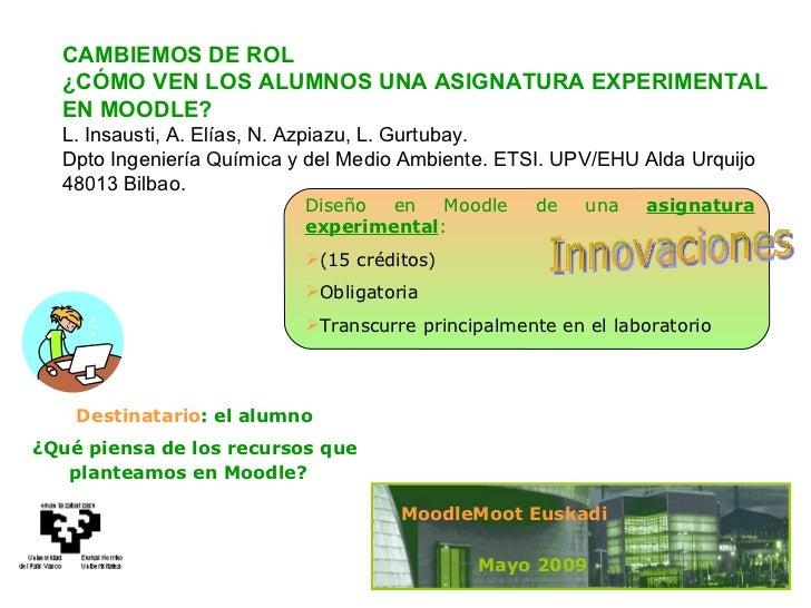MoodleMoot Euskadi09