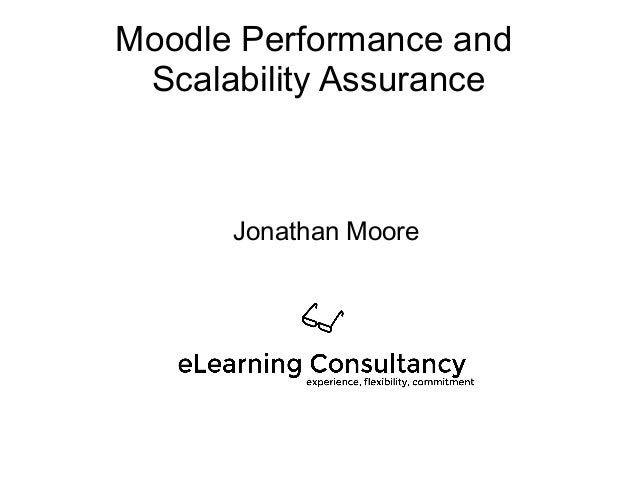Moodle performance and stress testing