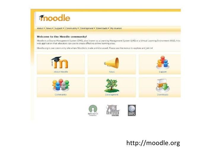 Moodle presentation