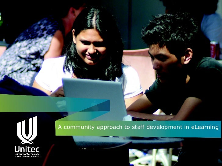 A community approach to staff development in eLearning - Moodle research conference 2012