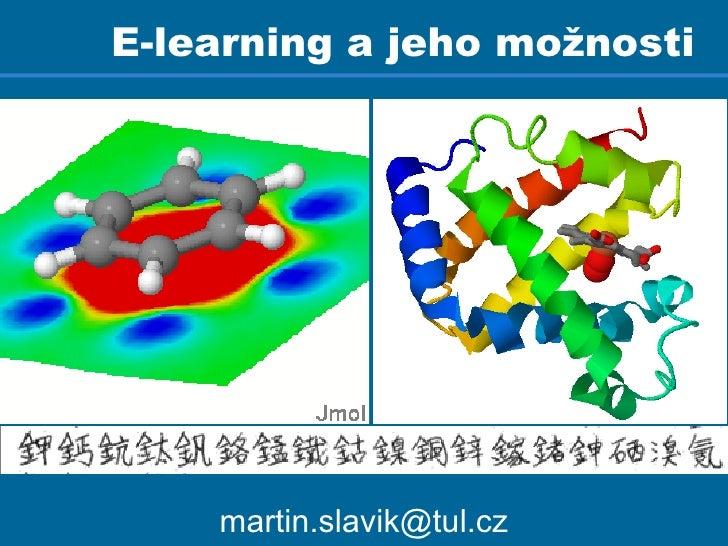 E-learning a jeho možnosti