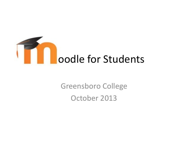 Moodle Student Guide