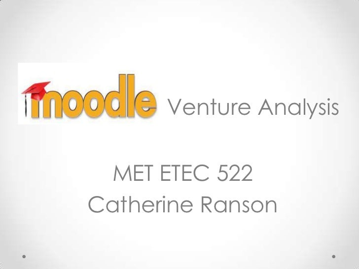 Moodle venture analysis
