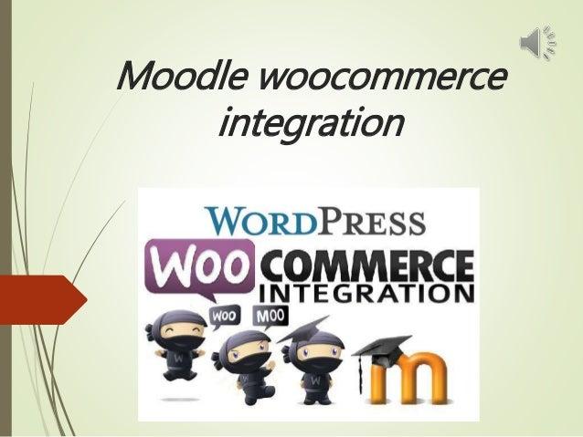 Moodle woocommerce integration