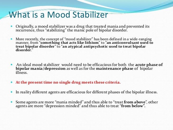 Bipolar disorder treatment therapy