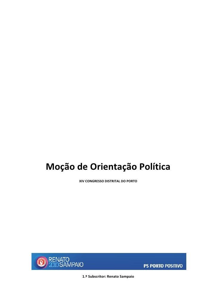 Moção de Orientação Política