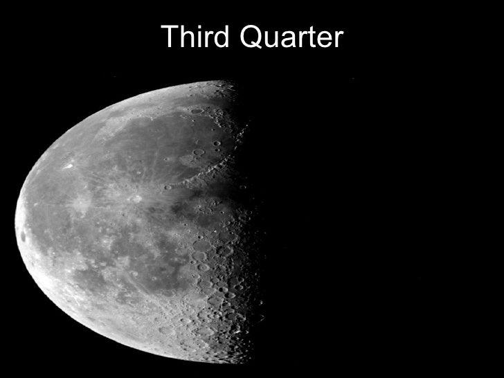3rd quarter moon